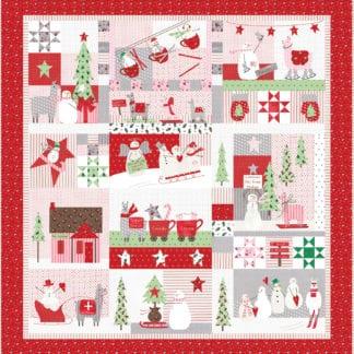 Merry Merry Snow Days Quilt Pattern