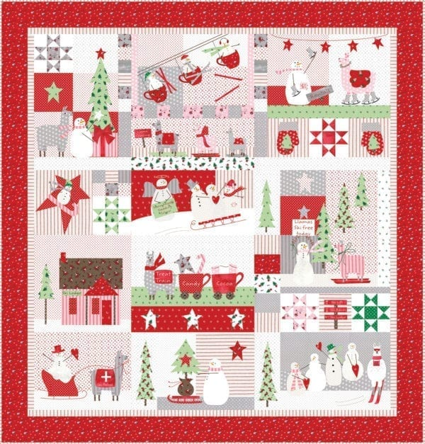Merry Merry Snow Days Quilt Pattern